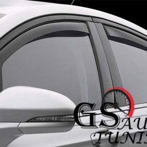 Ветробрани за FIAT 500 L 2012+ 5 врати - 4бр. предни и задни