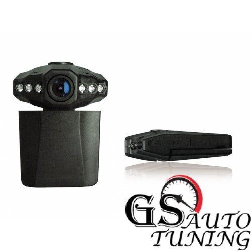 Видеорегистратор 720P с 2 LCD дисплей и презареждаща се батерия-gs-autotuning.com