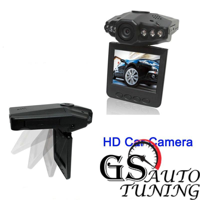 Видеорегистратор 720P с 2 LCD дисплей и презареждаща се батерия-gs-autotuning