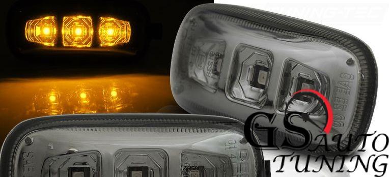 Диодни мигачи за AUDI A4 B6 B7 2001-2008 - опушени