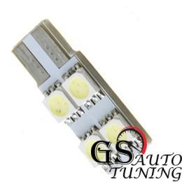Диодни LED крушки тип Т10 с 4 SMD диода от едната страна