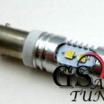 Диодни LED крушки тип BA9S 10W с 10 диода по 1W и лупа