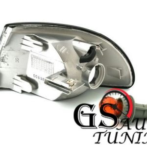 Кристални мигачи до фара AUDI A4 1995-1998 - черни-gs-autotuning.com