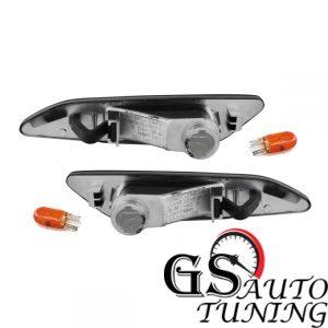 Кристални мигачи за ALFA ROMEO 156 - черен хром gs-autotuning