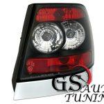 Кристални стопове AUDI A4 седан 95-01 - черен