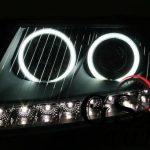 Кристални фарове за AUDI А6 Dayline 2004-2007 – хром-gs-autotuning