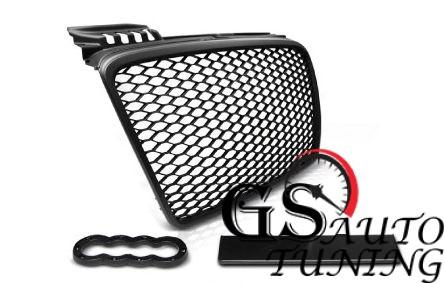Решетка без емблема за AUDI А4 Б7 2004-2007 RS Look черна