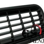 Решетка без емблема за AUDI А4 B6 2001-2004 – черна-gs-autotuning