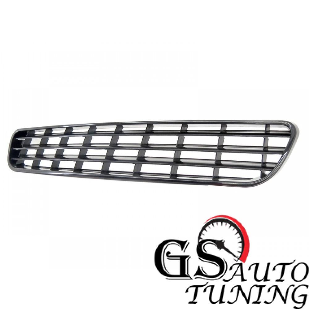 Решетка без емблема за Audi A3 1996-2000 черна-gs-autotuning.com
