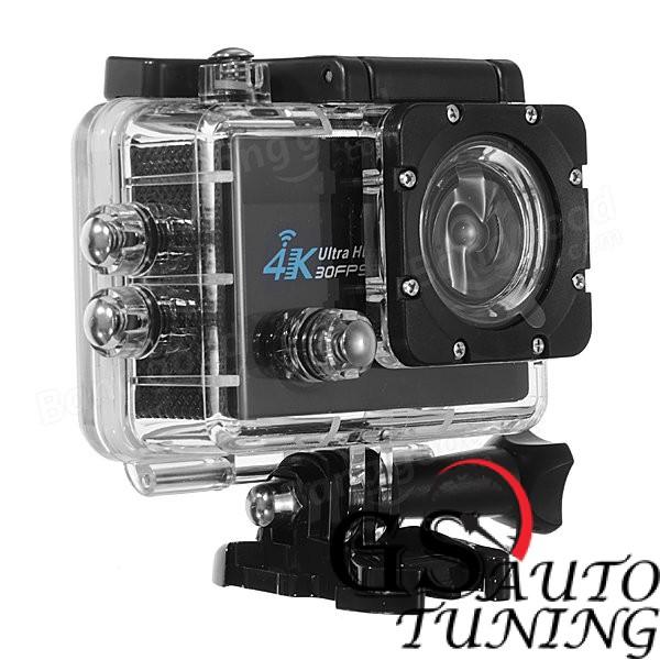 Спортна екшън камера с Wi-Fi 60fps 4K Ultra HD за екстремни спортове