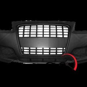 Тунинг предна броня за Ауди А3 1996-2003 с черна решетка-gs-autotuning.com