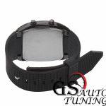 Спортен Часовник – RPM Turbo Дизайн – черен. Висококачествена изработка от метал за корпуса и от пластмаса за каишката